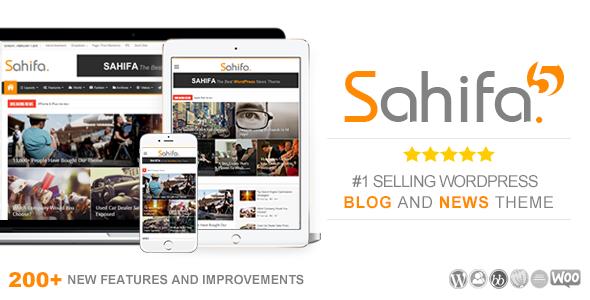 Themes tối ưu cho SEO 2016 Sahifa Theme