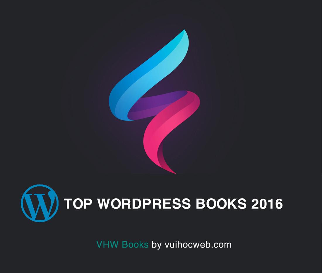 sách học wordpress hay nhất 2016 - VHW Books