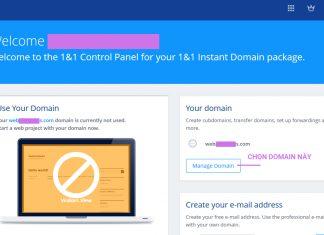 Hướng dẫn trỏ domain về hosting trong 5 phút bằng NS records