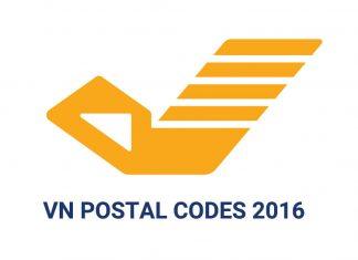 danh sách postal code các tỉnh,thành phố vn 2016