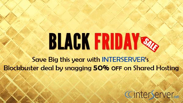 Tin vui ! InterServer giảm 50% trọn đời Black Friday 2016