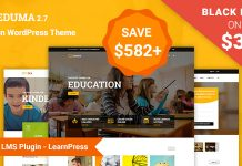 Themeforest Sale 50% OFF -Eduma Theme chỉ còn $32