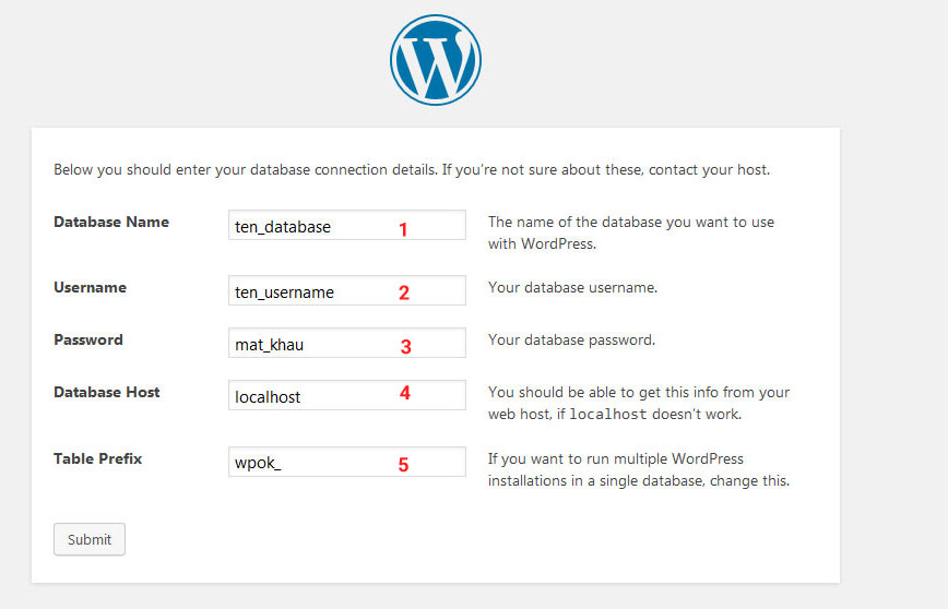 cai wordpress tren vps