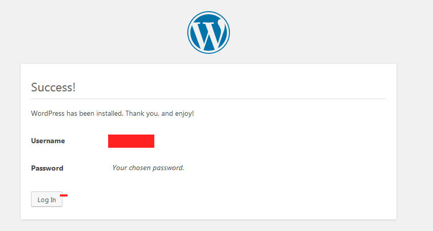 cai-wordpress-install-success