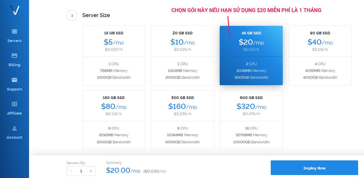 chon-server-size-vps-vultr