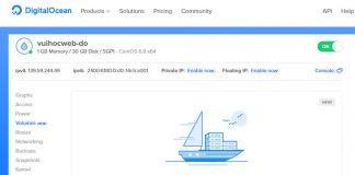 hướng dẫn quản lý vps digitalocean