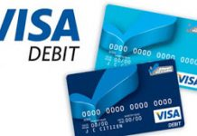 nen dung the visa debit cua ngan hang nao