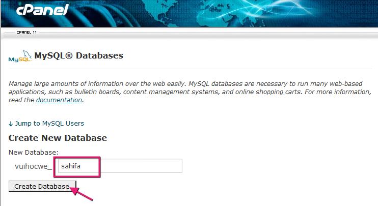 Cài đặt WordPress trên hosting cPanel