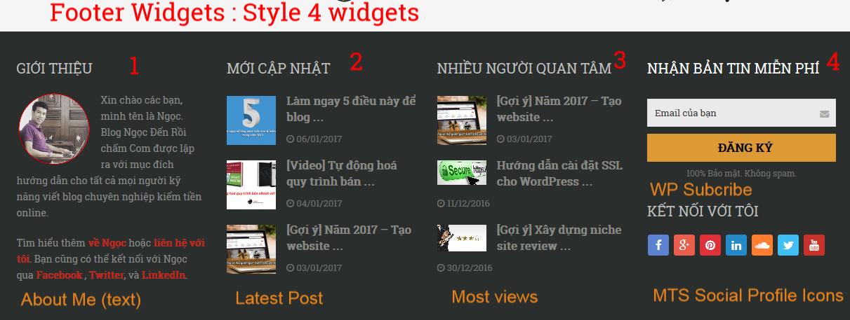 Xây dựng Blog chuyên nghiệp trong 1 giờ Case Study Ngocdenroi.com