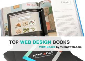 Sách học web design - Front-end Books
