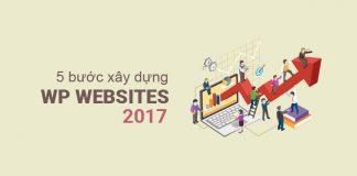 5 bước tạo website wordpress chuyên nghiệp