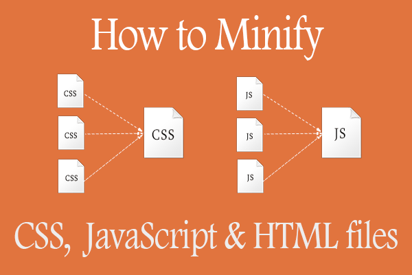 Minify CSS - HTML - JS to speed up WordPress