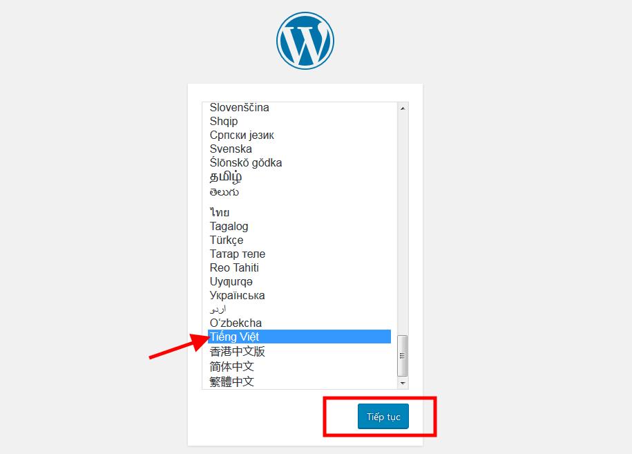 Cài đặt wordpress tiếng việt trên Free hosting của Hostinger