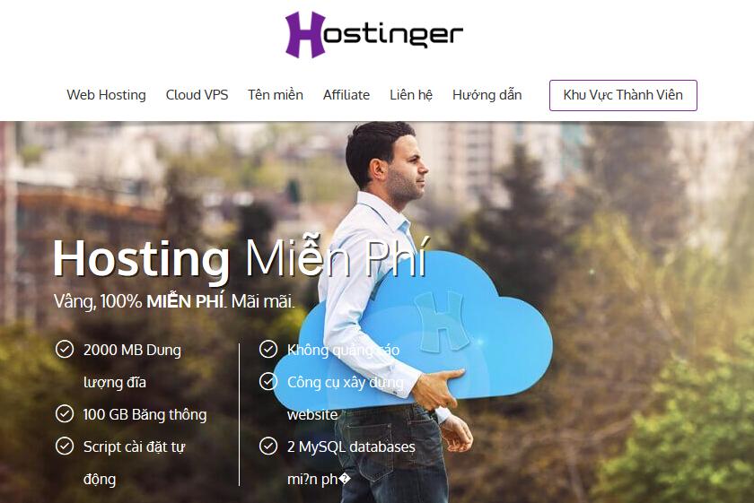 Tạo blog học WordPress trên Free Hosting của Hostinger
