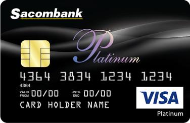 Thẻ VISA Sacombank