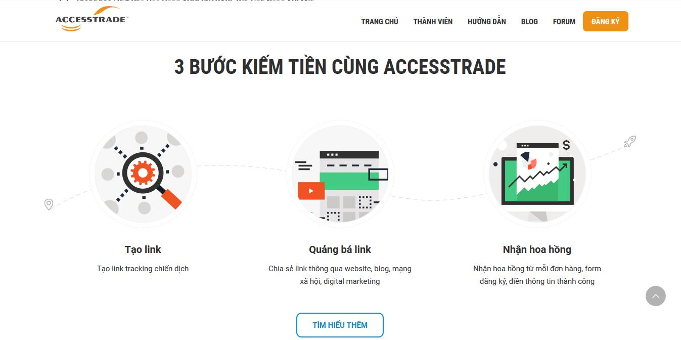 Accesstrade là mạng tiếp thị liên kết số 1 VN