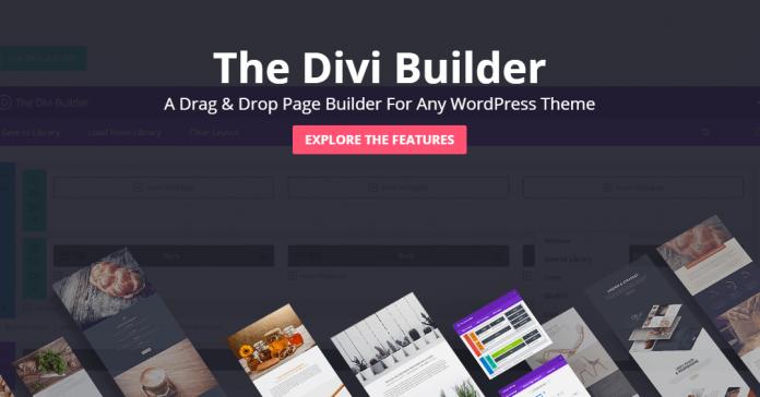 Divi Builder plugin 696x364 - Page Builder : 12 Plugin để thiết kế web tốt nhất 2019