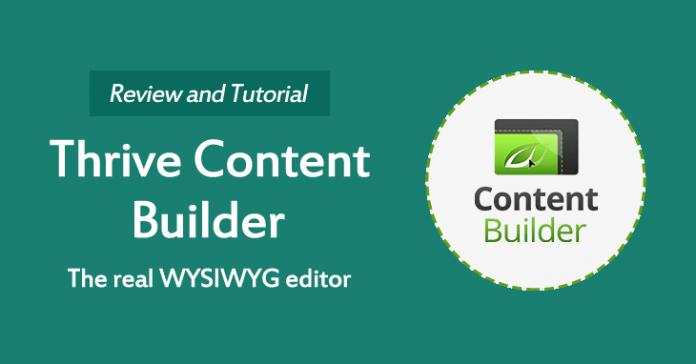 Thrive Content Builder Review 696x364 - Page Builder : 12 Plugin để thiết kế web tốt nhất 2019