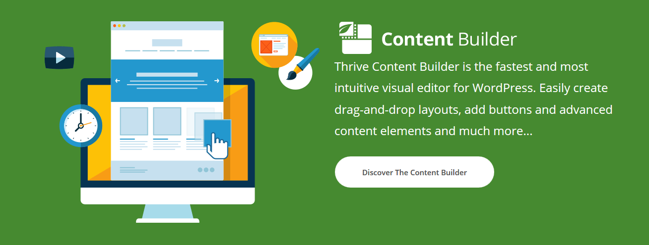 Thrive Content Editor includes 3 excellent plugins of ThriveThemes