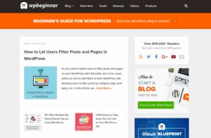 blog nổi tiếng WPBeginner dùng Genesis Framework