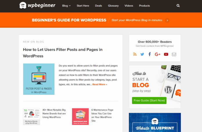 Famous blog WPBeginner uses Genesis Framework