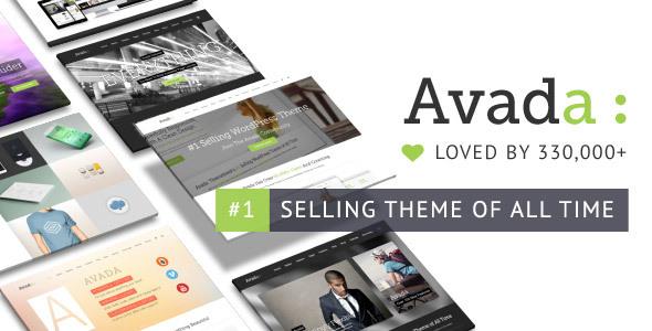 Avada là theme WordPress tốt nhất cho đa mục đích và bán chạy nhất lịch sử ThemeForest