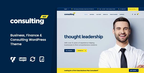 Consulting là theme WordPress tốt nhất cho công ty.png