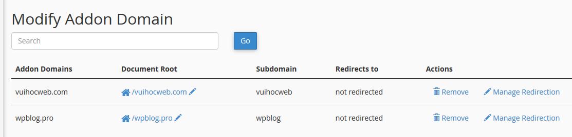 Danh sách websites trên StableHost
