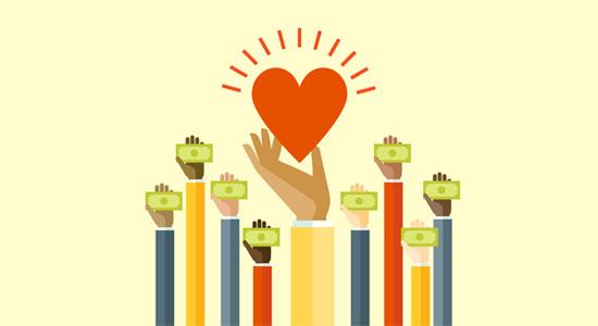 Donations là một trong 10 cách kiếm tiền từ blog hiệu quả nhất hiện nay