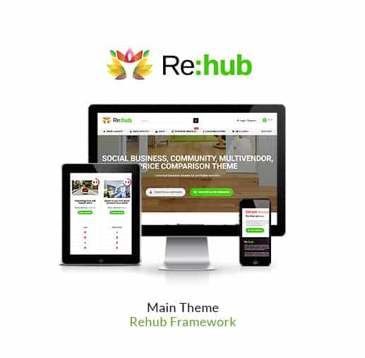 Main demo - REHub