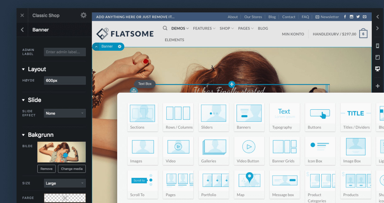 Flatsome-UX-Builder