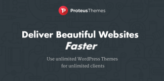 Giới thiệu và Tặng ProteusThemes Themes auto update