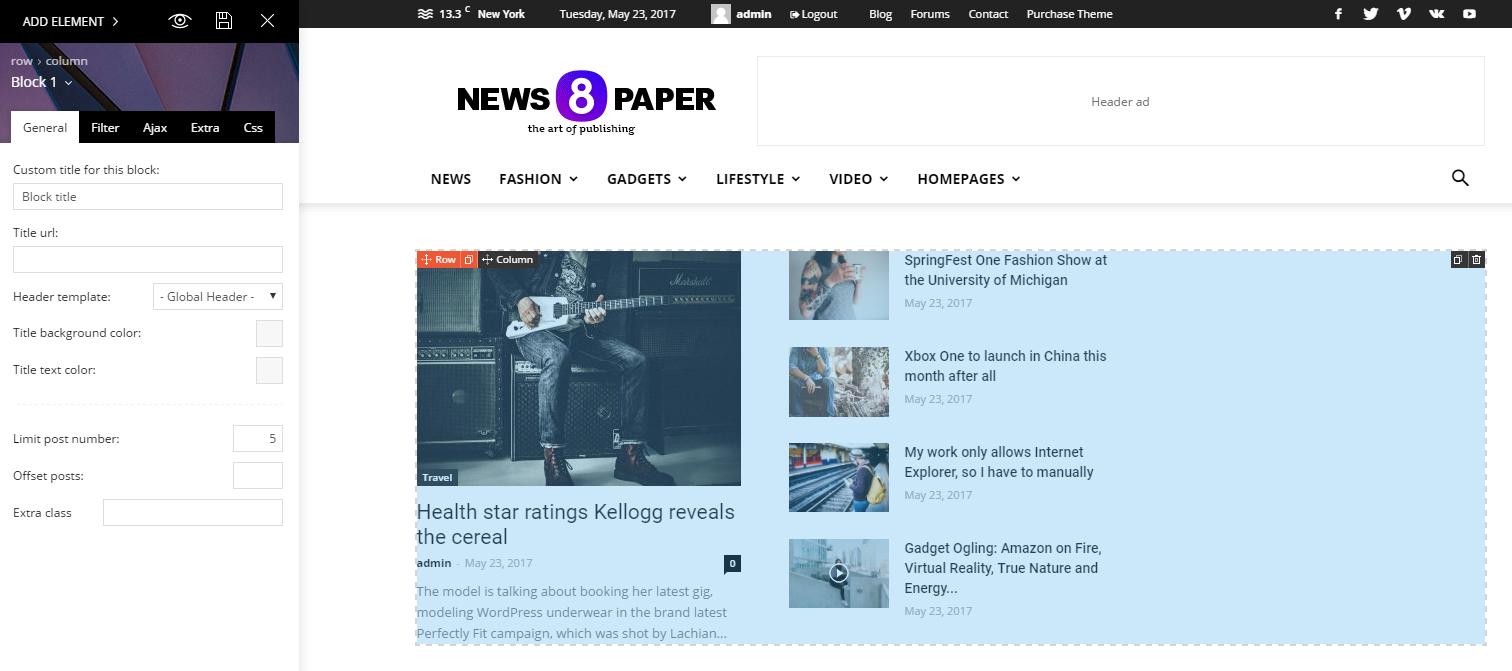 Tagdiv Composer giúp Newspaper 8 load nhanh hơn và chuẩn SEO hơn hẳn