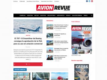 Avion Revue dùng Tribune của WPZoom