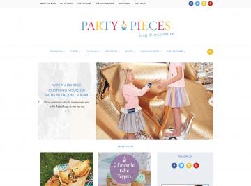 Party Pieces là công ty của gia đình công nương Anh Kate Middleton