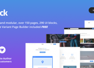 Stack - Theme Multipurpose bán chạy ThemeForest