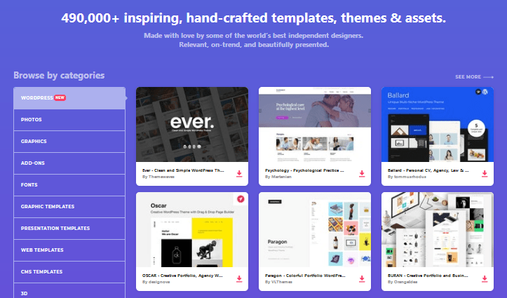 Introducing Envato Elements - Themes Library - WordPress Plugins unlimited sites
