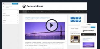Đánh giá và hướng dẫn sử dụng GeneratePress Free và Premium