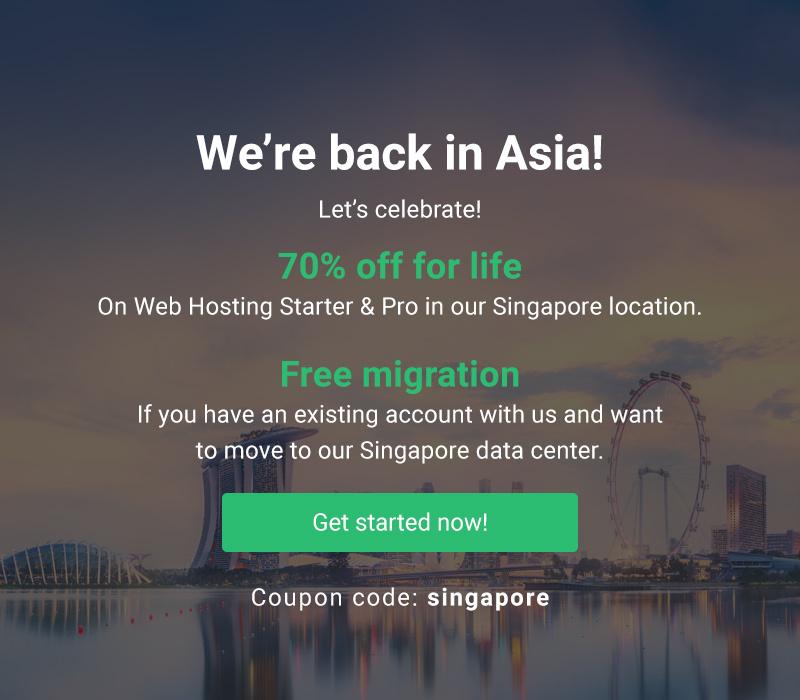 StableHost trở lại Singapore - Giảm 70% trọn đời