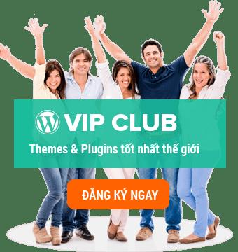 VIP CLU B WordPress bản quyền