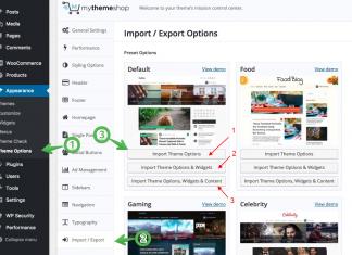 Hướng dẫn sử dụng MyThemeShop