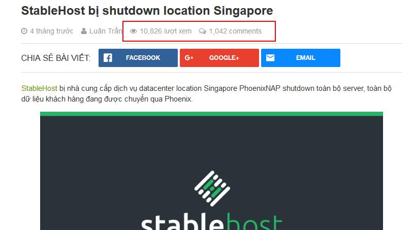 Backup WordPress - StableHost
