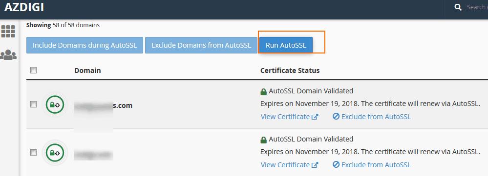 AZDIGI tự động cài và kích hoạt SSL Let's Encrypt