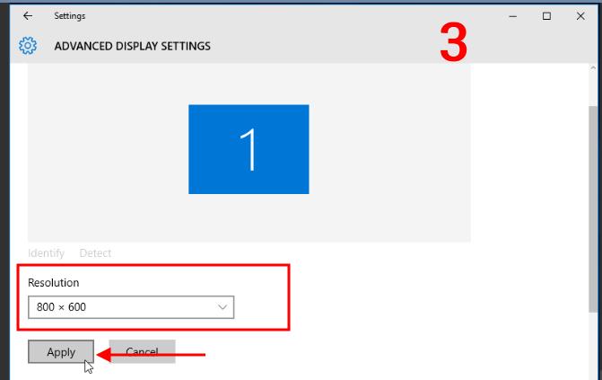 Tối ưu độ phân giải VPS Windows 3