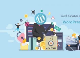 Các lỗ hổng bảo mật trên WordPress