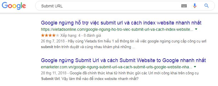 Submit URL 2019 is still effective