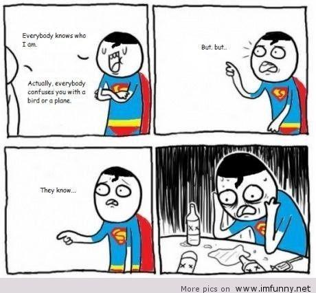 Superman cũng là con người nguồn itsfunny.org