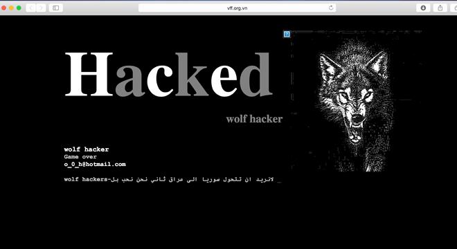 VFF bị hacker
