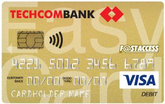 VISA Debit Techcombank