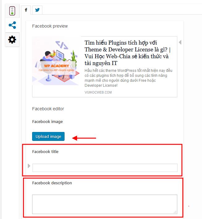 Yoast SEO giúp tối ưu nội dung hiển thị cho Facebook, Twitter